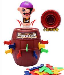 jogos de mesa de natal Desconto A pessoa inteira para desabafar o brinquedo bar ktv jogo assustador pirata balde náutico um susto bang balde pirata