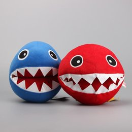 "Wholesale Video Shark - 2 Colors Super Mario Bros Shark Ball Chain Chomp Plush Toys Dolls Stuffed Dolls Gift for Children 8"" 20 CM"