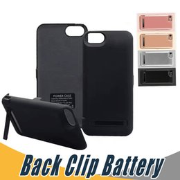 Wholesale Iphone Cover Bank - Good Quality 5000mah 8000mah Powercase Back Clip External Power Bank Cover Charger Powerbank Case For iPhone 6 6s 7 plus