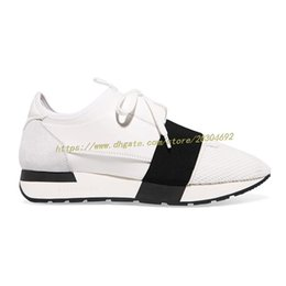 Wholesale Business Casual Sneakers Men - Free Shipping new Top Sneakers Men and Women Genuine Leather White and Black Business Casual Shoes Paris Men Designer Shoes