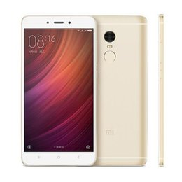 Wholesale Dutch Note - Original Xiaomi Redmi Note4 Note 4 Helio X20 3G RAM 32G ROM Deca Core 13.0MP 4100mAh 4G LTE 5.5 Inch Smartphone