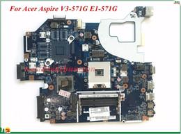 Wholesale Intel Ethernet - Wholesale And High Quality Motherboard For Acer aspire V3-571G E1-571G Laptop Motherboard Q5WVH LA-7912P SJTNV HM70 100% Tested