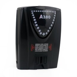 Wholesale Compatible Laser - 2014 New A380 Car Radar Detector Full Band Alert Laser Defense System Compatible with GPS Navigator, Free & Drop Shipping