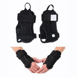 Wholesale Wholesale Ski Gear - Wholesale- Palm Wrist Guard Brace Sport Protective Gear Hand Protectors Gloves Armguard for Motorcycle Snowboard Skiing Skating Skateboard