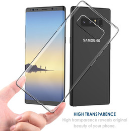 Wholesale Wholesale Clear Iphone Cases Cheap - Cheap Transparent Soft Thicken TPU Case Clear Gel Rubber Bulky Back Corner Case Cover for iPhone X 8 7 6 Plus Samsung Galaxy Note 8 S8 S7 S6