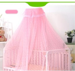 Wholesale China Curtains Wholesale - Popular China baby crib netting Wholesale Mosquito Net Bed Canopy Netting Mesh Curtain camping free shipping