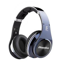Wholesale Bluedio Nfc - Bluedio R+ Legend Version Bluetooth Headphones Supports NFC Bluetooth4.0 Deep bass wireless Headphones over the ear Headphones