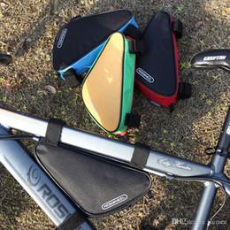 Marka Roswheel 1.5L Açık Üçgen Bisiklet Bisiklet Ön Tüp Çerçeve Çanta Dağ Bisikleti Kılıfı 12657 Mavi / Kırmızı / Siyah / Sarı nereden