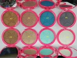 Wholesale Icing Powder - New arrival Jefree Five Stars Makeup Skin Frost Ice Cold Face Jeffrey Glow Kit Bronzers Highlighters Powder with Mirror 8 Colors