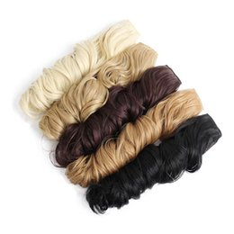 """Wholesale Synthetic Hair Extensions Wavy - I's a 24"""" 10 Colors Long Wavy High Temperature Fiber Synthetic Clip in Hair Extensions for Women"""