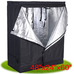 "Wholesale Grown Tent - 48""x24""x60"" Indoor Grow Tent Room Reflective Hydroponic Non Toxic Hut"