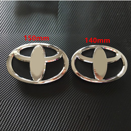 Wholesale Grill Accessories Wholesale - Popular Car Badges for Toyota Grill Plastic Many Sizes Car Fashion Badges Exterior Accessories New Arrivals