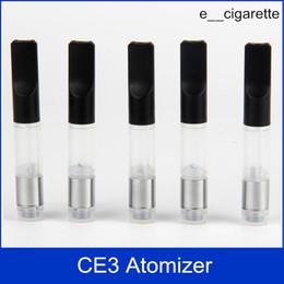 Wholesale Replaceable Smoke Electronic Cigarettes - CE3 Atomizer Vaporizer Cartridge electronic cigarette Atomizer 510 CE3 Oil Atomizerl vapor thick Waxy Smoking Mini Tank