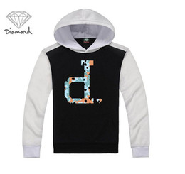 hip hop clothing diamond hoodie Promo Codes - s-5xl men arrival hot sale hip hop clothing Diamond Supply sweatshirt men outdoor hoodies free shipping
