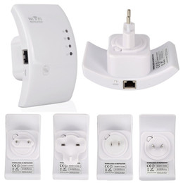 Wholesale Router Free - Brand New WiFi Repeater 802.11n g b Router Signal Range Extender Amplifier 300Mbps Free Shipping