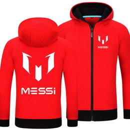 Wholesale Hoodie Promotion - Wholesale-2016 Promotion New Brand Patten Regular Cotton Sweatshirt Popular Football Messi Full Fleece Hoodies World Famous Player