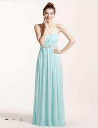 Wholesale White Prom Dress Ruching - 2016 Strapless Prom Dress with Ruched Bust and Beading with ruching on bodice and Beaded belt 8420DW3B Prom Gowns