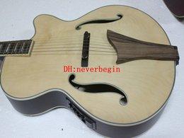 Wholesale Semi Acoustic Electric Guitars - New Arrival original jazz Electric Guitar Semi Hollow guitar pickups acoustic electric guitar Chinese guitar Free Shipping