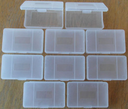 Wholesale Game Cartridges - Clear protective game cartridge case for Gameboy Advanced GBA transparent gamecard box