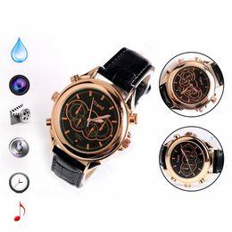 Wholesale Spy Waterproof Mp3 Watch - 2016 4GB 8GB Waterproof DVR MP3 HD Watch Spy Camera Dermis Wristband Watch DVR Hidden Camera for women