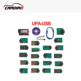 Wholesale Upa Chip Programmer - 2017 High quality UPA-USB UPAUSB UPA USB Programmer With Full Adaptors V1.3 ECU Chip Tunning OBD2 Diagnostic Tool Free Shipping