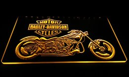 Wholesale Motor Cycles - Ls609-b Motor Cycles Neon Light Sign