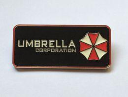 Wholesale Umbrella Men - Umbrella Corporation Resident Evil Metal Belt Buckle