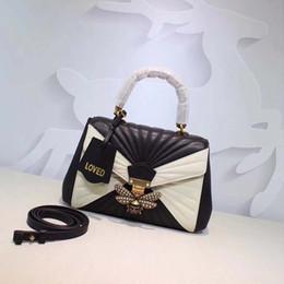 Wholesale Cheap Leather Accessories - Hot 2017 top quality Handbags New Women Bag Ladies Handbag Black 32CM Shoulder Bags Fashion Accessory Cheap Woman Handbags