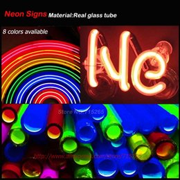 Wholesale Personalized Neon Light Sign - Wholesale- Check Cashing Neon Sign Neon Bulbs Real Glass Tube Handcrafted Light Signs Store Decorative Personalized Light Lamps VD 17x14