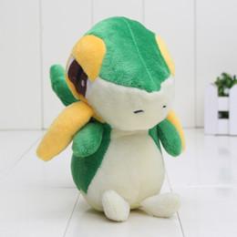 Wholesale Elf Comics - EMS 14cm Pikachu Plush Snivy elves Plush Toy Doll Soft Stuffed toy peluche Snivy Pocket Toys Kids toys