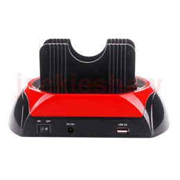 """Wholesale Hdd Docking Dock Station - All In 1 One 2.5"""" 3.5"""" IDE SATA HDD Hard Drive Disk Clone Holder Docking Station e-SATA USB2.0"""