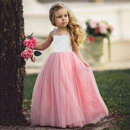 Wholesale Kids Fashion Wedding Dresses - Fashion Girls Princess Kids Photograph Wedding Flower Girl Tutu Dress Goodish