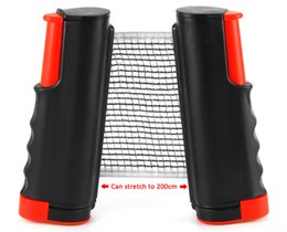 Wholesale Games Posts - Table Tennis Nets Posts Newest Retractable Table Tennis Ping Pong Games Portable Net Kit Replacement Black Top Quality 1BZ