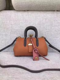 2017new borsa da bowling in pelle di design famosi donne borsa da viaggio di lusso piccolo sacchetto di spalla di lusso corpo signora sacchetto di alta qualità da