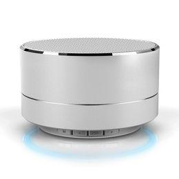 Argentina El altavoz inalámbrico Bluetooth de la aleación de aluminio moderna de la moda llama el altavoz estéreo sin manos del altavoz de la música de la tarjeta del TF bajo Suministro