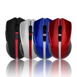Wholesale Brand Computer Mouse - Quietly V9 Brand 6D Optical Gaming Mouse Cool Design Professional USB Wireless Game Mice For Computer Peripherals No Sound No Light