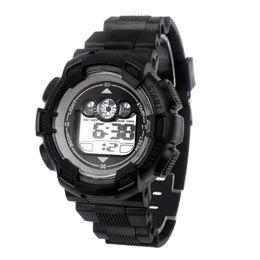 Wholesale Mens Watch Alarm - New Design Waterproof Mens Boy's Digital LED Quartz Alarm Date Sports Wrist Watch clock reloj hombre Apr08