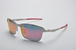 Wholesale Titanium Rimless Frames For Men - High quality Polarized lens Tincan 4083 Fashion Sunglasses For Men and Women Brand designer Vintage Sport Sun glasses With box