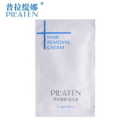 Wholesale Stocking For Body - Stock ready New arival PILATEN Hair Removal Cream Painless Depilatory Cream For Leg Armpit Body 10g By DHL