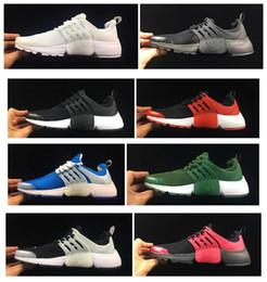 Wholesale E 14 - 14 Color Air PRESTO Shoes BR QS Breathable Black White Mens Running Shoes For Men Sports Shoe Sneakers,Walking Designer shoes EUR40-45