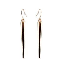 Wholesale Ear Hook Punk - Factory outlets European and American retro fashion rivet 3 color optional cone punk romantic Su earrings ear hook