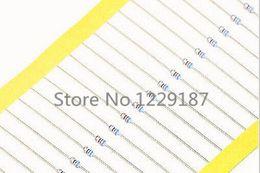 Wholesale Resistor Metal Film Ohm - Wholesale- 1000PCS 1 8W 47 ohm 47R 1% Metal Film Resistors 0.125W color ring resistance