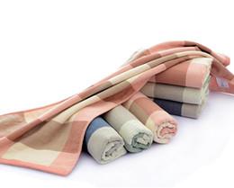 Deutschland 4pcs Maple Printed Quick-Dry Handtuch 100% Baumwolle Bad Strand Gesicht Handtuch Sets für Erwachsene Badezimmer 34cm * 75cm Geschenk Versorgung