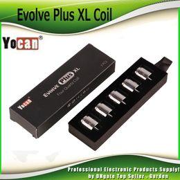 78012087a70cb wholesale authentic caps Promo Codes - Authentic Yocan Evolve Plus XL Wax  QUAD Coil Quatz Rod