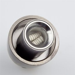 Wholesale Glass Orbs - Metal Coil Replacement for Steel Cannon Vase Wax Atomizer Glass Globe Vaporizer Dual Quartz Coil Replacement Source orb 3 Atomizer
