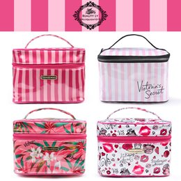Wholesale Volleyball Style - New Arrival Designer for victoria's Multi Style Graphic Cosmetic Bag Travel Organizer Toiletry Bag Women Waterproof Handbag Free Shipping