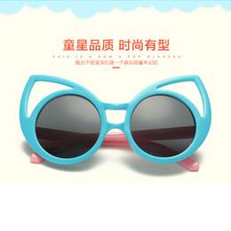 6c5c706beba2 Lovely Cat Eye Kids Sunglasses Korea Style Rabbit Ears Hollow Out Sunglasses  Kids Goggles Cute Baby Eye Protector Gift For Girls Boys