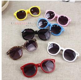 Wholesale arrow glass lens - 2017 Vintage Round Sun Glasses Children Arrow Glass Baby Boys Girls Kids Sunglasses Summer Goggles Oculos De Sol Gafas