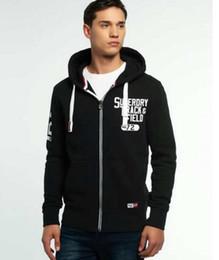 Wholesale Popular Coats - Popular Warm cotton Super zipperHoodies Hiphop Punk boy sweatshirts men pullover coat Fashion Classic printed hoodies jersey Gym Sports Coat
