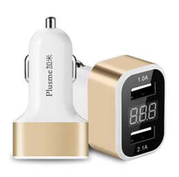Wholesale Tab Uk - 2016 High Quality Hot Smart Car Charger for iPhone 7 6S Plus 6 Plus 6 5SE 5S Samsung Galaxy S7 S6 S5 Edge Note 7 5 Tab iPad